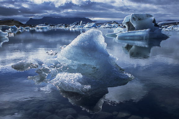 Jokulsarlon Ice, Iceland, by Andrew Jones